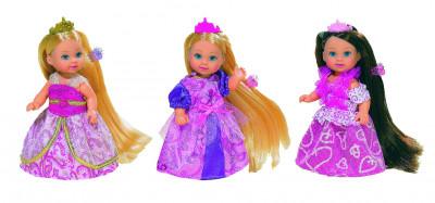 Panenka Evička Rapunzel, extra dlouhé vlasy - mix variant či barev