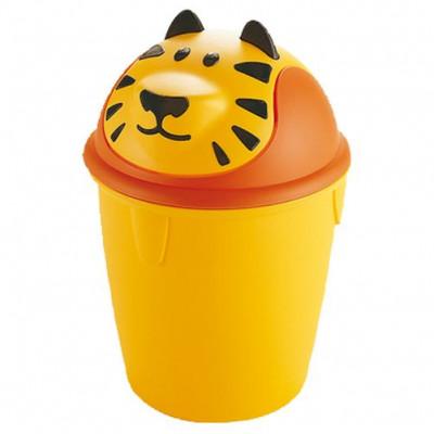 koš odpadkový dětský TYGR výklopný 12l kulatý plastový