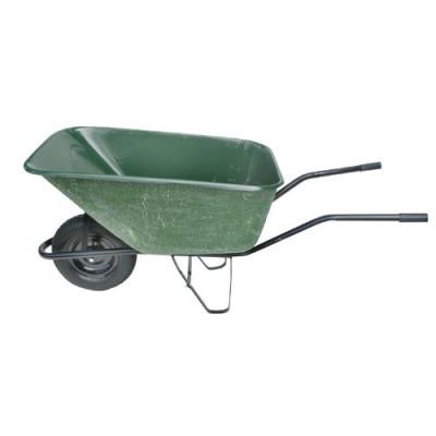 kolečko zahradní 140l, nafukovací, laminát. korba, nosnost 100kg