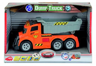 Dickie AS Dump Truck 15 cm, světlo, zvuk