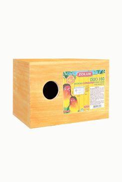 Budka pro ptáky do klece dřevěná 23cm Zolux