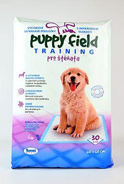 Podložka Puppy Field nácvik. 60x60cm 30ks