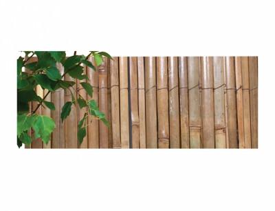 Rohož bambus štípaný lakovaný 1x3m