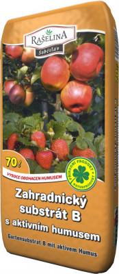 Substrát - Zahradnický s podílem aktivního humusu 70 l