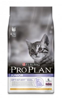 Purina ProPlan Cat Junior s kuřecím masem 3 kg