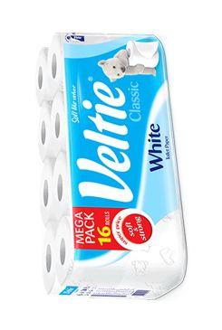 Wc toaletní papír Kleenex 2V bílý 16ks