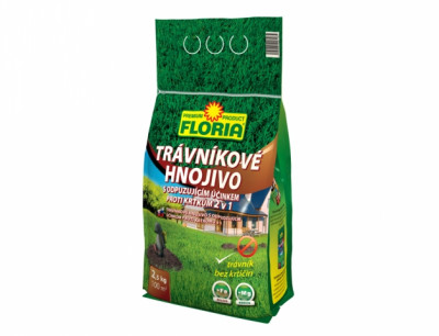 Hnojivo FLORIA na trávník proti krtkům 2,5 kg