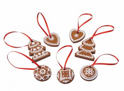 Vánoční ozdoby-perníčky