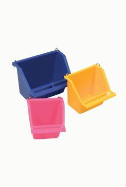 Krmítko pro ptáky do klece plastové M mix barev Zolux