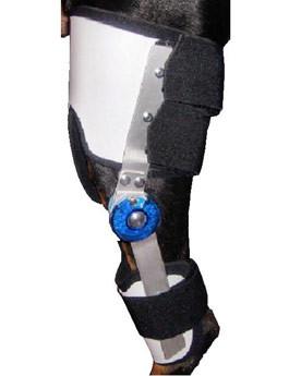 Ortéza kolenní s nastavitelným kloubem XXL pravá