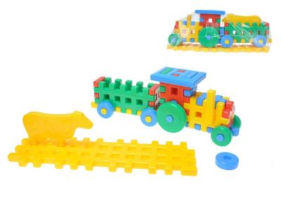 Stavebnice pro nejmenší - traktor