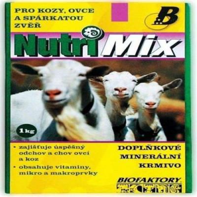 Nutri mix pro kozy, ovce a spárk.zvěř plv 20 kg