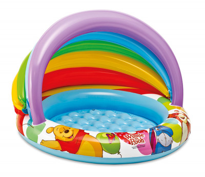 Bazének s nafuk. dnem Medvídek Pú 102x69cm 1-3roky