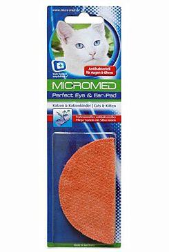 Oční/ušní utěrka MICROMED s ionty stříbra kočka