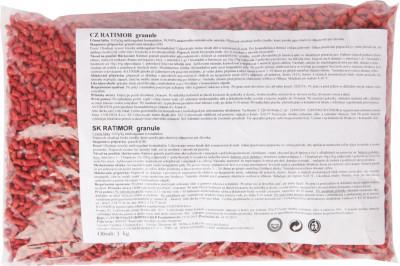Ratimor - granule 1 kg