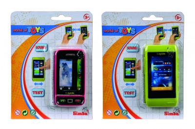 Mobil s dotykovým displejem - mix variant či barev