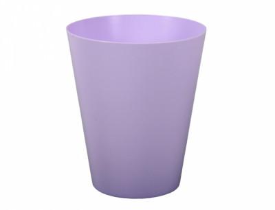Obal na květník VULCANO ORCHID plast světle fialový d13x13cm