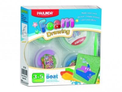Foam Drawing – kreativní sada Loď