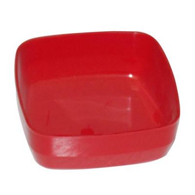 miska kompotová 10cm hranatá plastová - mix barev
