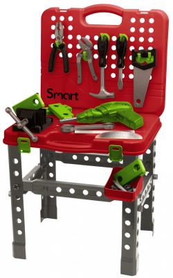 Pracovní stůl přenosný 68 cm s 60 doplňky Smart