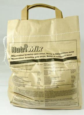 Nutri mix pro kozy, ovce a spárk.zvěř plv 3 kg