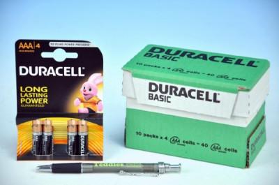 Baterie Duracell Basic alkaline AAA 1,5V