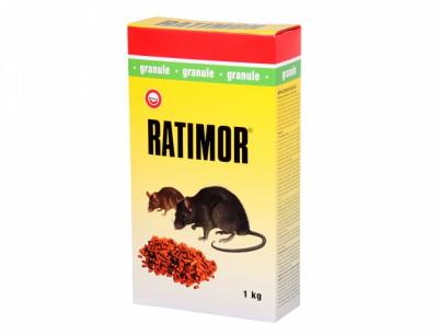 Rodenticid RATIMOR granule 5x200g