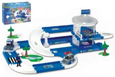 Kid Cars 3D Policie plast 3,8m v krabici Wader