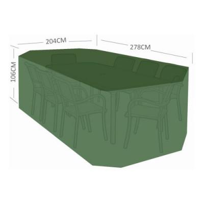 plachta krycí na zahr. nábytek 278x204x106cm