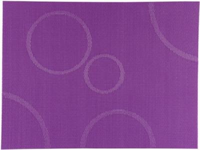 Prostírání PVC s kruhy 40x30 cm - fialové, Bakly