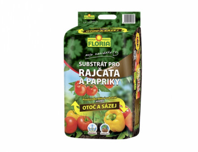 Substrát FLORIA pro rajčata a papriky 40l