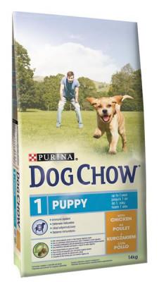 Purina Dog Chow Puppy Chicken+Rice 14 kg