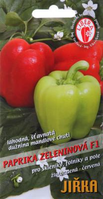 Paprika F1 - Jiřka F1 (15 semen)