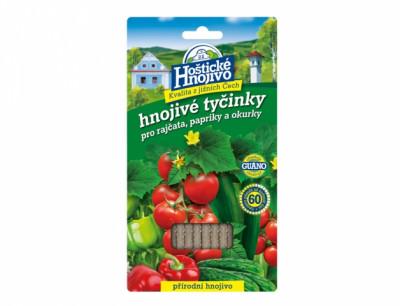 Hnojivo HOŠTICKÉ tyčinkové na rajčata, papriky a okurky 20ks