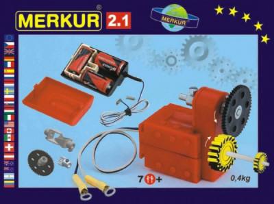 Stavebnice MERKUR 2.1 Elektromotorek