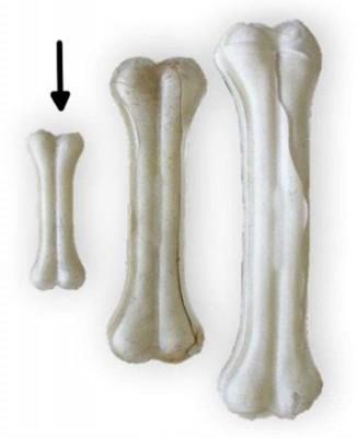 Buvolí kost bílá Tenesco 8 cm
