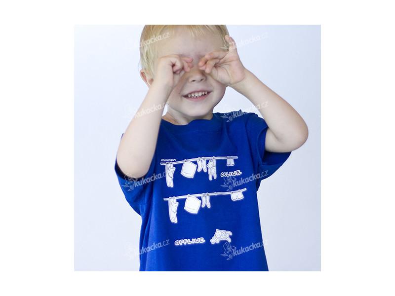 dětské tričko s krátkým rukávem, mayaka