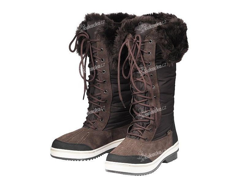 Dámské zimní boty JACALU 8f21724afd