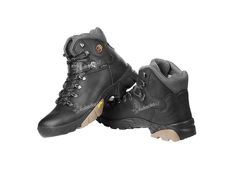Trekingové zimní boty JACALU Black unisex 978e256586