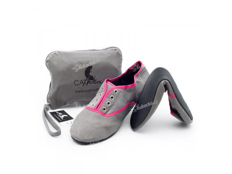 CatMotion skládací baleríny do kabelky Strand Pink f31be42b17