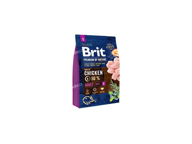 Brit Premium Dog by Nature Adult S 3kg ab0e74cc67