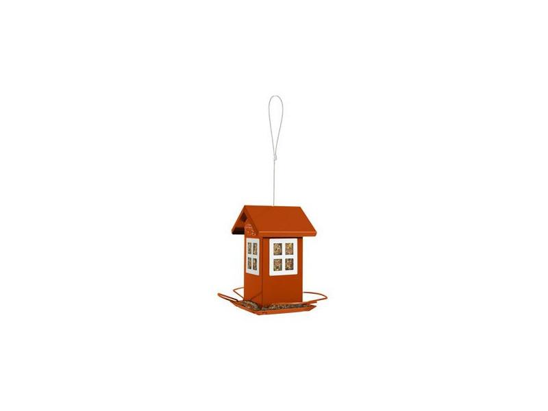 Budka krmítko HOUSE kovová oranžová Zolux b6091e0720