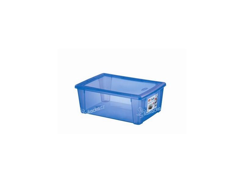 0da6dba2d box úložný SCATOLA 10l, 36,5x25,5x14cm s víkem plastový, MO