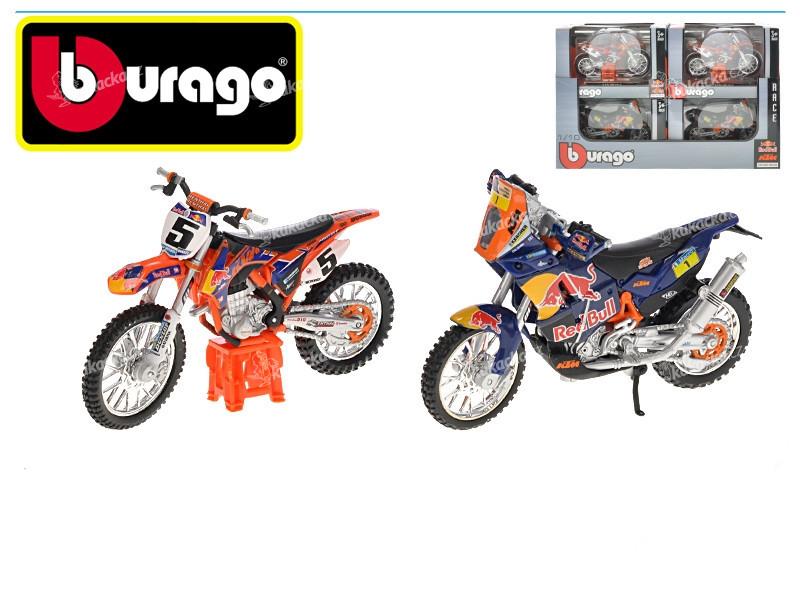 bburago 1 18 race moto red bull ktm mix variant i barev. Black Bedroom Furniture Sets. Home Design Ideas