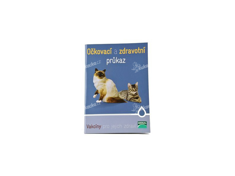 Očkovací průkaz kočka Merial mezinárodní 1ks 7b859d3e41