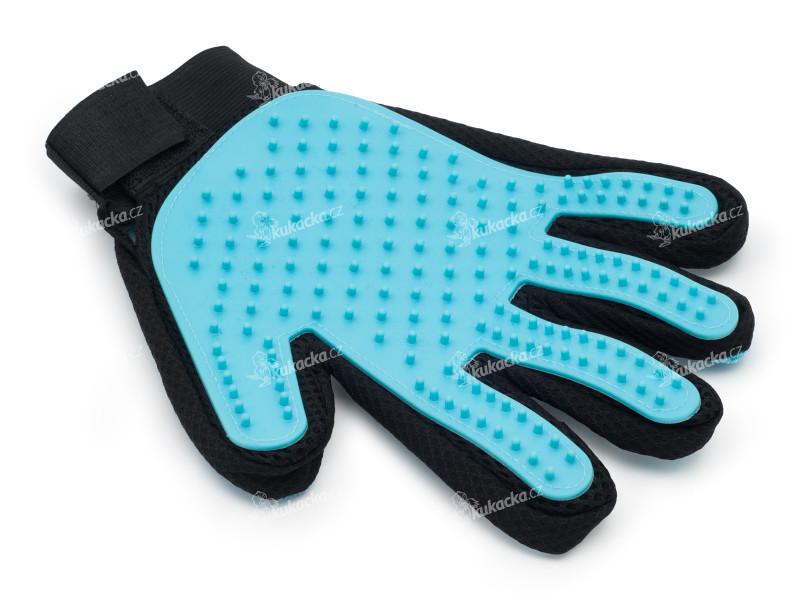 Silikonová rukavice pro vyčesávání srsti psů a koček a2aedb9e7c