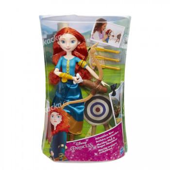Disney Princess Princezna Locika/ Merida s módními doplňky - mix variant či barev - VÝPRODEJ