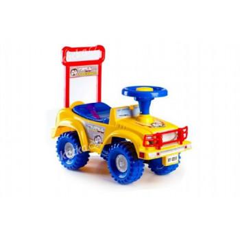 Odrážedlo auto Yupee žluté