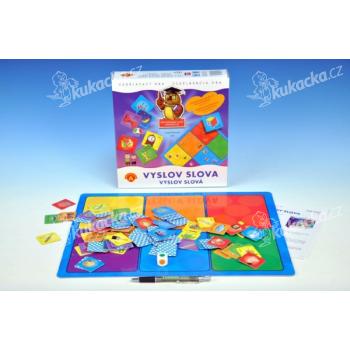 Vyslov slova didaktická společenská hra v krabici 25x25cm