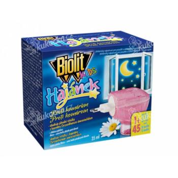 Odpařovač BIOLIT KIDS elektrický proti komárům 45 nocí 35ml